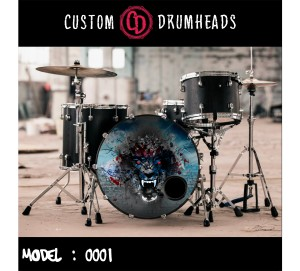 Bass Drum Reso Head no 0001