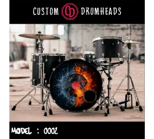 Bass Drum Reso Head no 0002