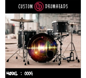 Bass Drum Reso Head no 0004