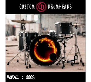 Bass Drum Reso Head no 0005