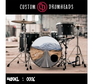 Bass Drum Reso Head no 0006