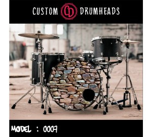 Bass Drum Reso Head no 0007