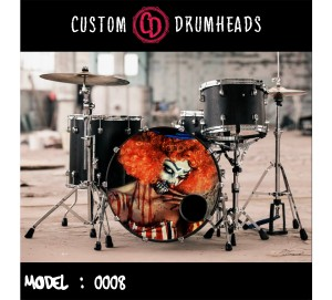 Bass Drum Reso Head no 0008