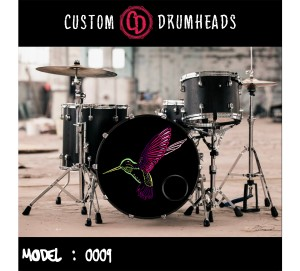 Bass Drum Reso Head no 0009