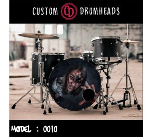 Bass Drum Reso Head no 0010
