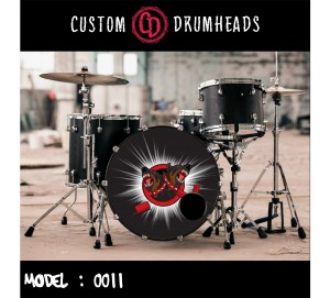 Bass Drum Reso Head no 0011