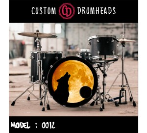 Bass Drum Reso Head no 0012