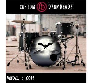 Bass Drum Reso Head no 0013