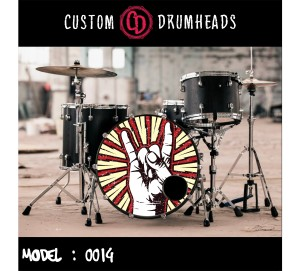 Bass Drum Reso Head no 0014