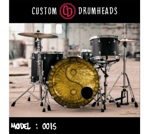 Bass Drum Reso Head no 0015
