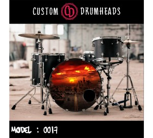 Bass Drum Reso Head no 0017